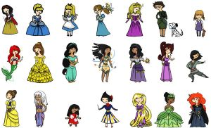 .: Disney Time Full :. by spiderettes