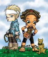 jacques and aila by Shaiyan