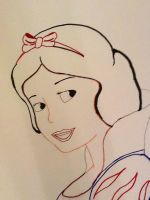 snow white WIP by Artlover916
