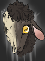 Baa Baa Black Sheep by LavvytheJackalope