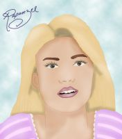 DISNEY Counterparts: Rapunzel/Mandy Moore by M-Victoria-W