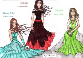 The Cullens by gabrielleblackparade
