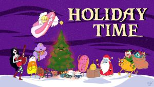 Adventure Time Christmas Card 2012 by PredieNerdie