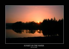 Sunset on the water by lmsmith