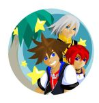 Kingdom Hearts vector fanart by pepper-tea