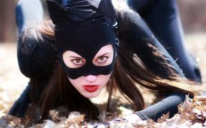 Me as Catwoman again by CarolineKnight