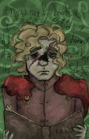 a mind needs books (Tyrion Lannister) by SmudgeThistle