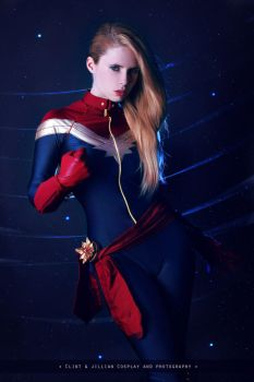 Captain Marvel - Marvel Comics by FioreSofen