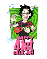 Happy 41st, Billie Joe! by GreenDayComix