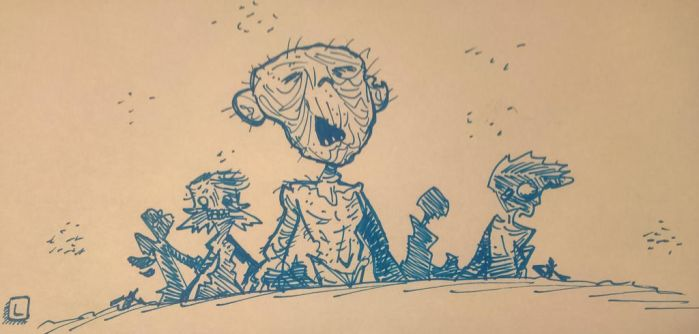Zombies by Slentert