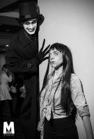 Babadook and Tomie by PulpAddedCosplay