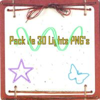 Pack de 30 Lights PNG's by KaTuMV