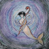 The Mermaid Sorceress by vifetoile