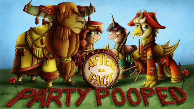 After the Fact: Party Pooped by MLP-Silver-Quill