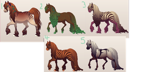 Equine Adopts {Closed} by Shadowed-Adoptables