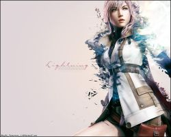 FF13 Lightning Wallpaper by MaybeTomorrow07