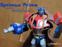 Optimus Prime is Mal by Gizmo-Tracer