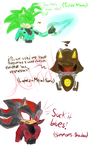 Red vs Blue/Sonic Character Concepts 1 by XxBlazePrincessxX