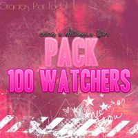 Pack De 100 Watchers! by CaroEditionsBTR