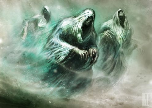 The Souls of the Drowned by michifromkmk