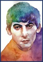 George Harrison by haniutek