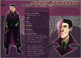 Hunger Games OCT: Silvain by kaalashnikov