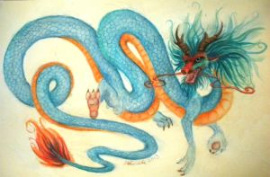 Chinese Dragon by FimbulWinter9