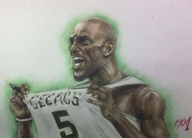 Kevin Garnett, Boston Celtics :) by julia94s