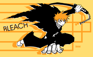 Bleach:Bankai Ichigo by ahnline