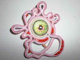 Eye Soutache by glo0bule