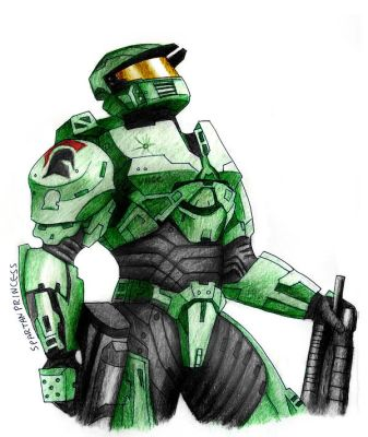 A Spartan Hero by SpartanB214
