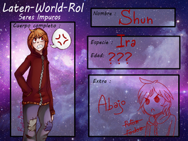 Ficha: Laten-World-Rol- Shun by Red-Bronny