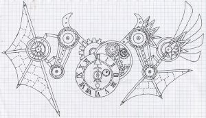 Steampunkt tatoo design by Payomihael