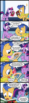 MLP: EPHF - Flash and The Joy of Irony by MattX16