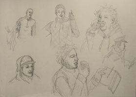 Expression Quick Scetch 3 by NoctiLuna