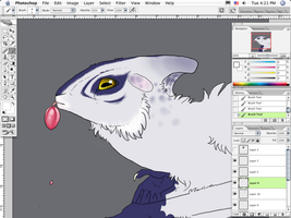 Squee dragon WIP by RAIDEO-MARS