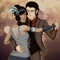 1920's - Dancing With the Enemy by ChibiKinesis