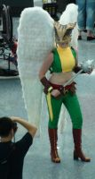 Hawkgirl was back in the action at Comikaze 2012 by trivto