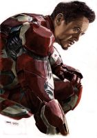 Ironman: Age Of Ultron by dmbarnham