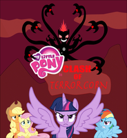 My Little Pony In Clash Of Terrorcorn Logo by Zacharygoblin55