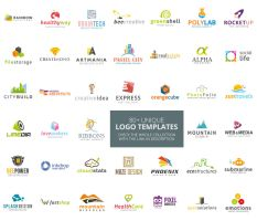 80+ Logo Templates Collection by survivorcz