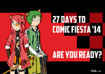 Comic Fiesta 2014 Countdown Day 27 by darkcreamz95