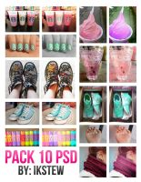 Pack 10 PSD by ikstew