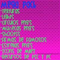 Mega Pack de Recursos by TutorialesParaPSC
