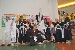 BLEACH Group Cosplay by ardenilia