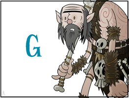 A Very Skyrim Alphabet: G is for... by DrFaustusAU