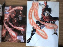 Wiccan... comparisson with the comicbook by victoriapieroni