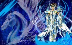 Pegasus no Seiya God Cloth by grivitt