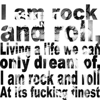 Asking Alexandria Lyric Poster by ObsceneSunday