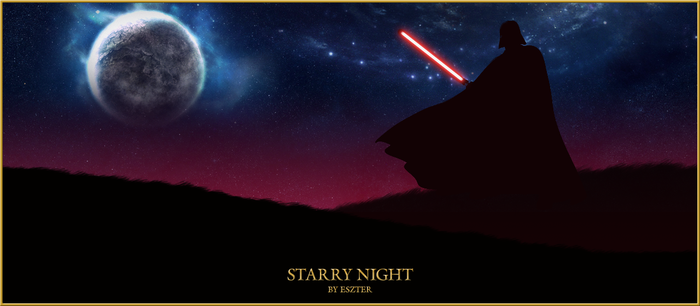 Starry Night by LaraStrong